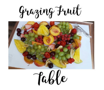Create A Grazing Fruit Table