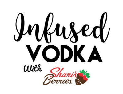 Let's Cook: Infused Vodka With Sharis Berries