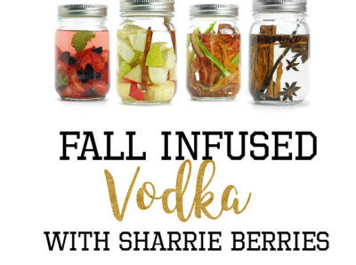 Infused Vodka From Sharis Berries